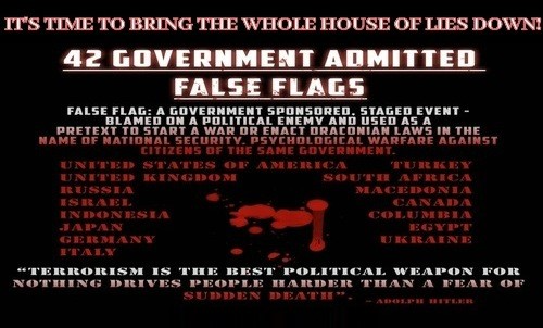 42 Government Admitted False Flags...