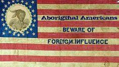 Aboriginal Wisdom - Beware of Foreign Influnce