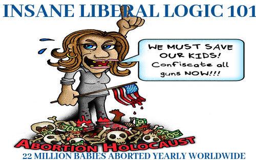 Insane Liberal Logic 101...