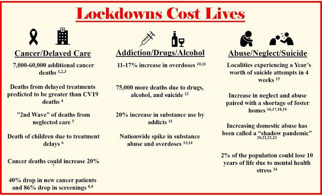Lockdowns Cost Lives 2020...